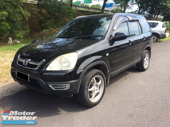 2003 HONDA CR-V 2.0L 4WD (A) VERY TIPTOP CONDITION