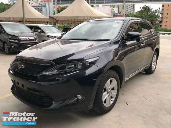 2015 TOYOTA HARRIER 2.0 ELEGANCE PREMIUM SST INCLUSIVE LOCAL AP ACTUAL YEAR MAKE
