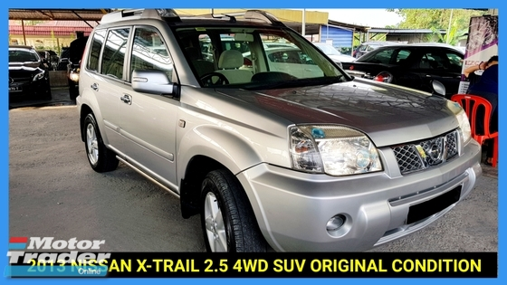 2013 NISSAN X-TRAIL 2.5L 4WD ORI PAINT TIP TOP