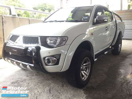 2012 MITSUBISHI TRITON 2.5 (A) ONE OWNER,NOT SITE USE,NICE NUMBER,REG 2013