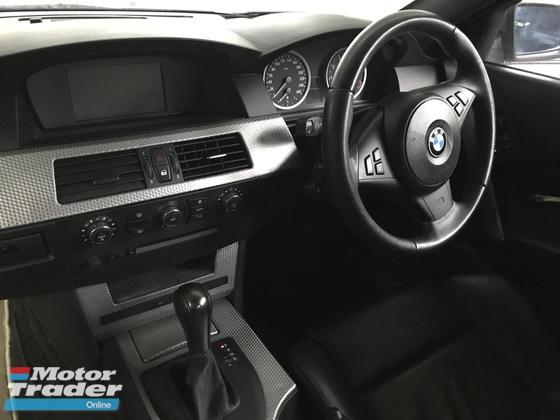 2006 BMW 5 SERIES 525i M-SPORT E60 MAGNESIUM, PUSH START
