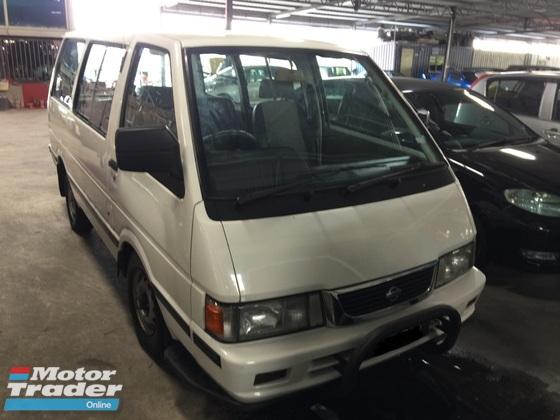 2009 NISSAN VANETTE C22 Window Van