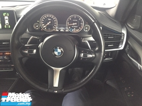 2015 BMW X6 3.0 CC M SPORT 40D.FULLSPEC.0 SST.TRUE YEAR CAN PROVE 15 UNREG.SUNROOF.PADDLE SHIFT.POWER BOOT.MEMORY SEAT WITH LEATHER  N ETC.FREE WARRANTY N MAYNY GIFTS