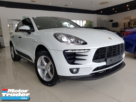2017 PORSCHE MACAN 2.0 TURBO FACELIFT SUNROOF POWERBOOT UK SPEC UNREG