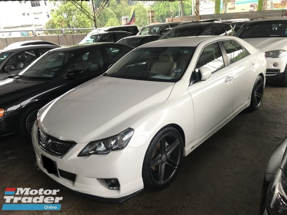 2010 TOYOTA MARK X 2.5 G SPEC FULL BODYKIT 19 VOSSEN SPORT RIMS PARKING CAMERA 2010