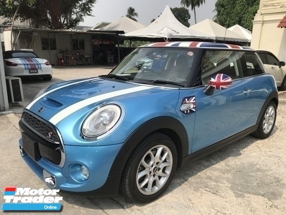 2015 MINI 3 DOOR COOPER S 2.0 TURBO UNREG BLUE UK