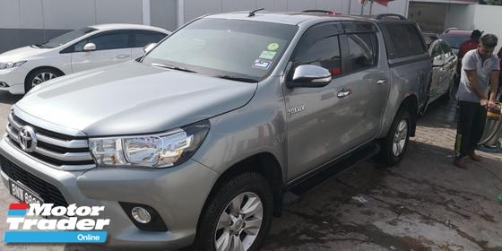 2016 TOYOTA HILUX All Variant