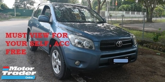 2006 TOYOTA RAV4 2.0 (A) 5 DOOR, ABS, AIRBAG, WELL MAINTAIN, FULL SPEC, NEW MODEL, REGISTER 2007, ONE OWNER, TOWN USED, CAN LOAN