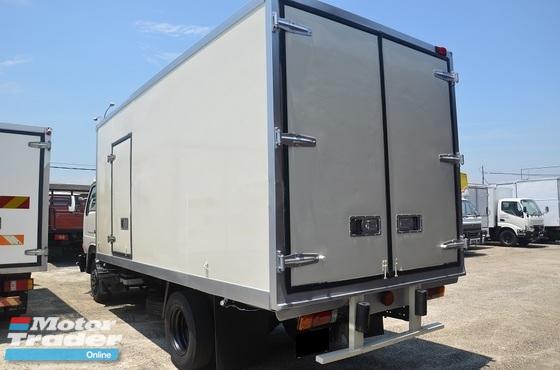 2006 Nissan YU41T5 Refrigerator Bonded Box Chiller Blower 5000kg 16ft Green Diesel Engine
