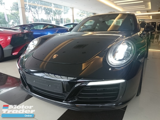 2016 PORSCHE CARRERA S  C2 Unregistered