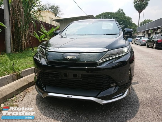 2017 TOYOTA HARRIER  2.0T PREMIUM Unregistered
