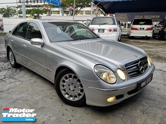 2005 MERCEDES-BENZ E-CLASS E200 KOMPRESSOR LOCAL (CKD) 1.8 (A)