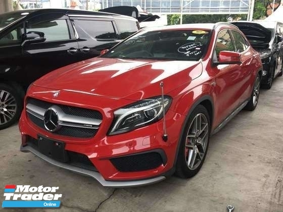 2015 MERCEDES-BENZ GLA 45 AMG 4MATIC.0 SST.FULLSPEC.TRUE YEAR CAN PROVE 15 UNREG.POWER BOOT.REVERSE CAM.MEMORY BUCKET SEATS.FREE WARRANTY N MANY GIFTS