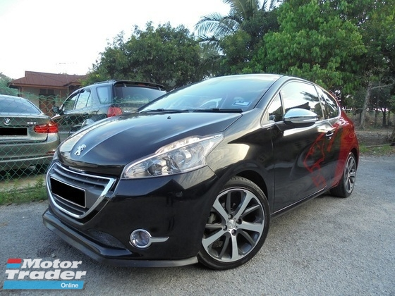 2013 PEUGEOT 208 1.6 Allure Panoramic Coupe TipTOP LikeNEW