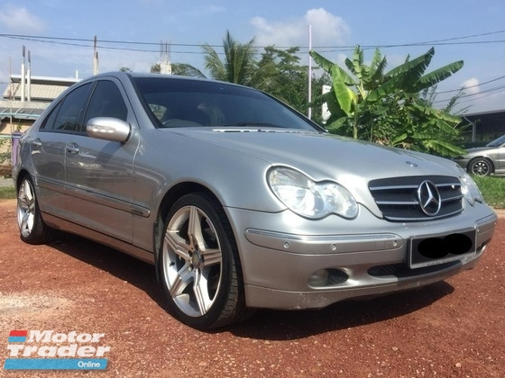 2001 MERCEDES-BENZ C-CLASS C200 2.0 KOMPRESSOR ELEGANCE LEATHER SEAT