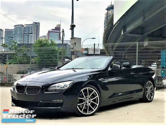 2011 BMW 6 SERIES 3.0 (A) CONVERTIBLE SPORT COUPE UNREG