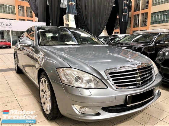 2007 MERCEDES-BENZ S-CLASS 3.5 (A) V6 LUXURY VERSION GOOD CONDITION TIP TOP