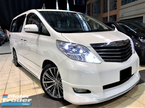 2008 TOYOTA ALPHARD 3.5 (A) VL PREMIUM FULL SPEC GOOD CONDITION