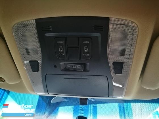 2016 TOYOTA VELLFIRE 2.5X (8 seater) 2 power doors
