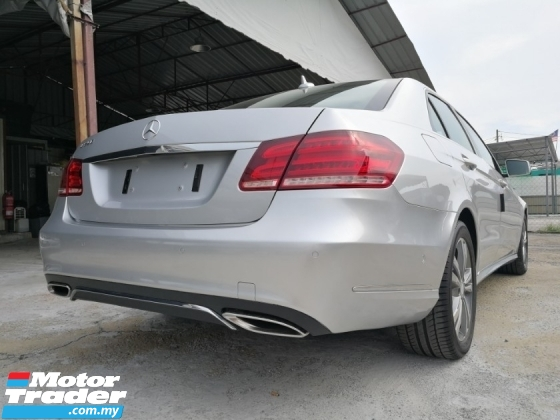 2015 MERCEDES-BENZ E-CLASS E250 SST Done Unreg