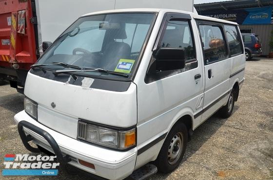 1997 NISSAN VANETTE C22 Window Van 1.5cc petrol 8 Seater Air Conditioning