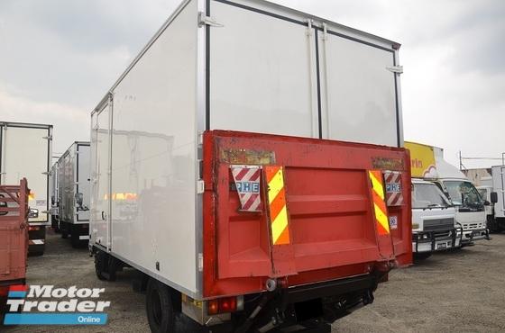 2011 Isuzu NPR66UPH Fibre Box Van Bonded Body c/w tail Lift/Tail Gate 16ft 5000kg