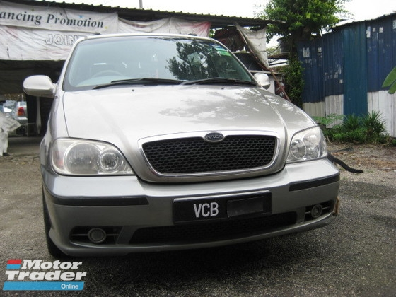 2004 NAZA RIA 2.5 SG (A) NEW TYRE AND TIMING BELT GOOD CONDITION