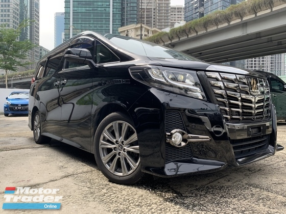2016 TOYOTA ALPHARD 2.5 TYPE GOLD JBL PRE CRASH 4 SURROUND CAMERA HOME THEATRE UNREG