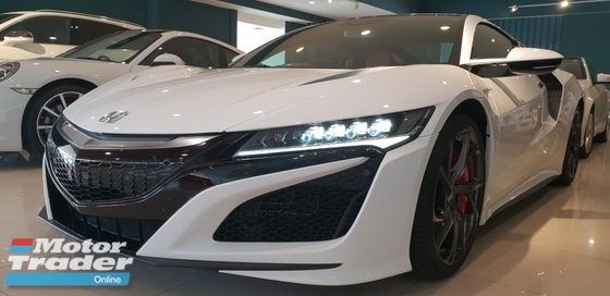 2017 HONDA NSX 2017 Honda NSX 3.5 Coupe DEMO CAR V6 TWIN TURBO HYBRID UNREG