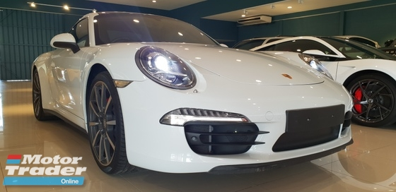 2014 PORSCHE 911 2014 Porsche 911 3.8 Carrera 4S Coupe UNREG- PDK-UK SPEC