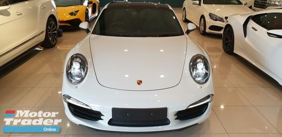 2014 PORSCHE 911 2014 Porsche 911 3.8 Carrera 4S Coupe UNREG- PDK-UK SPEC