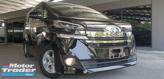 2016 TOYOTA VELLFIRE 2016 Toyota Vellfire 2.5 MPV 4 CAM JBL MORE SPEC & MORE 100 UNITS CAR TO VIEW