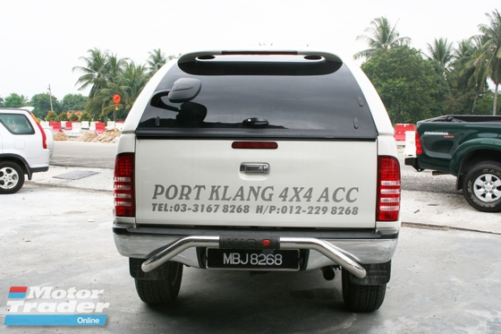 Toyota Hilux Vigo 9 bar rear bumper bar