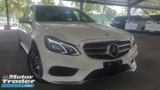 2014 MERCEDES-BENZ E-CLASS 2014 Mercedes-Benz E250 2.0 AMG JPN SPEC UNREG PROMO PLS CALL CHONG 0193839680