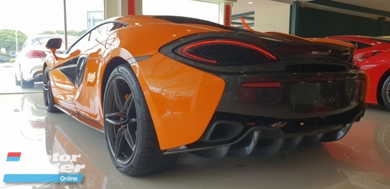 2017 MCLAREN 570 2017 McLaren 570S 3.8 Coupe UNREG  FULL SPEC UK CAR