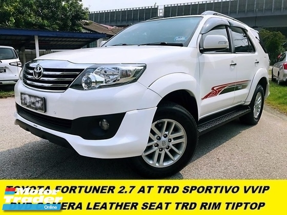 2015 TOYOTA FORTUNER 2.7V FULL SPEC GPS NAVIGATION ELECTRIC SEAT REVERSE CAMERA REAR AIRCOND BLOWER