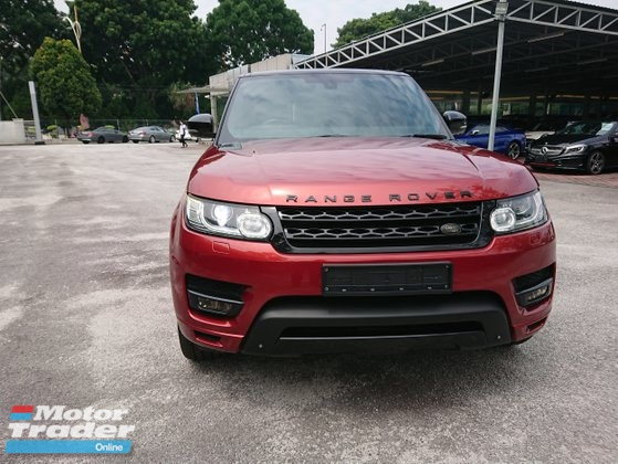 2014 LAND ROVER RANGE ROVER SPORT V8 HSE SPORT Dynamic V8  unregistered
