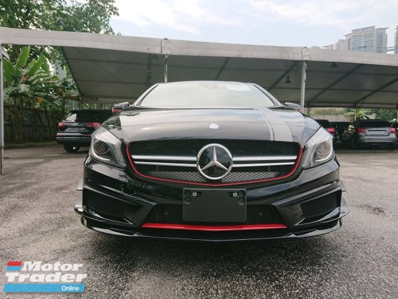 2013 MERCEDES-BENZ A-CLASS A45 AMG  4 MATIC EDITION 1 2.0 (A) Unregistered