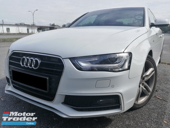 2014 AUDI A4 1.8 (A) TFSI S-LINE FULL BODYKIT SUNROOF B8 FACELIFT EDITION