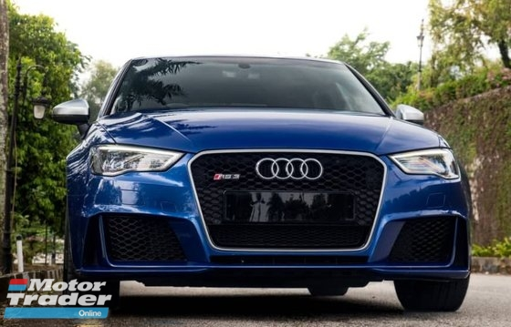 2016 AUDI RS3 Sportback  unregistered