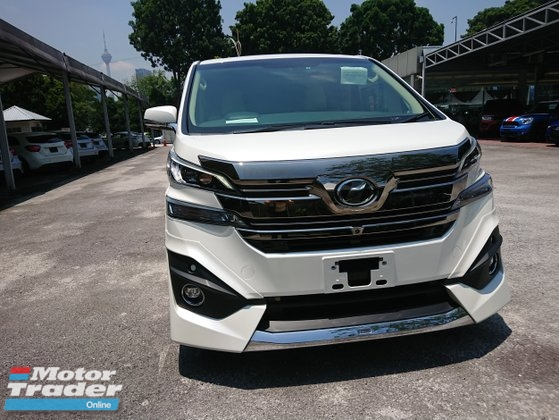 2015 TOYOTA VELLFIRE 3.5 Executive Lounge Unreg