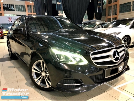 2013 MERCEDES-BENZ E-CLASS 2.0 (A) LOCAL FULL SPEC GOOD CONDITION
