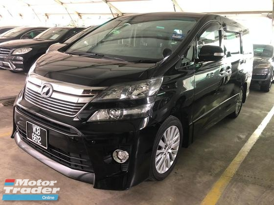 2012 TOYOTA VELLFIRE 3.5 ZG TIP TOP Condition