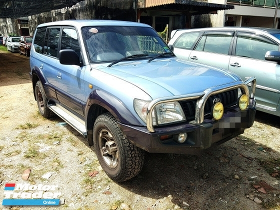 1996 Toyota Prado Landcruiser 2 7 Gx Suv Full Spec Manual 1996 97 Only 1 Uncle Owner  Low