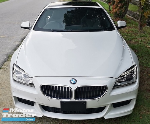 2013 BMW 640i 2013 BMW 640i M-SPORT COUPE 3.0 TWIN POWER TURBO JAPAN SPEC UNREGISTERED CAR SELLING PRICE ONLY  ( RM 278,000.00 NEGO ) CAR BODY - WHITE COLOR ( 1572 )