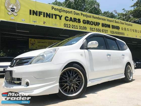 2012 NISSAN GRAND LIVINA 1.8 FULL BODYKIT FULL LOAN SANGAT MURAH
