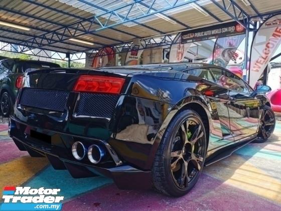 2005 LAMBORGHINI GALLARDO Lamborghini GALLARDO 5.0 F/LIFT LP560 Ferrari F430