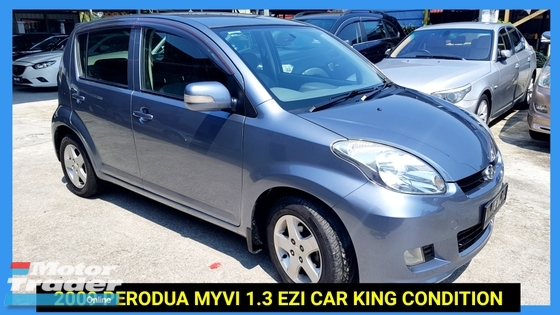 2009 PERODUA MYVI 1.3 EZI FACELIFT MODEL LOW MILEAGE CAR KING