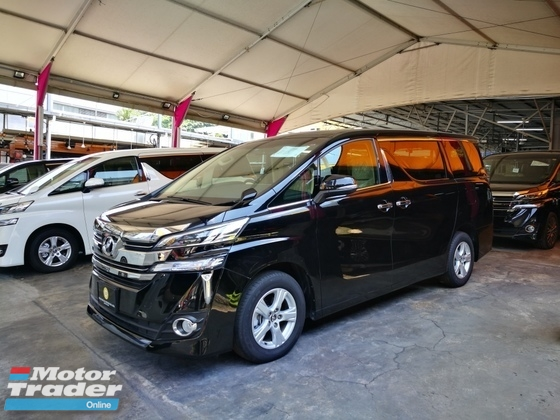 2016 TOYOTA VELLFIRE 2.5X Premium 7 seater with 2 Power Doors