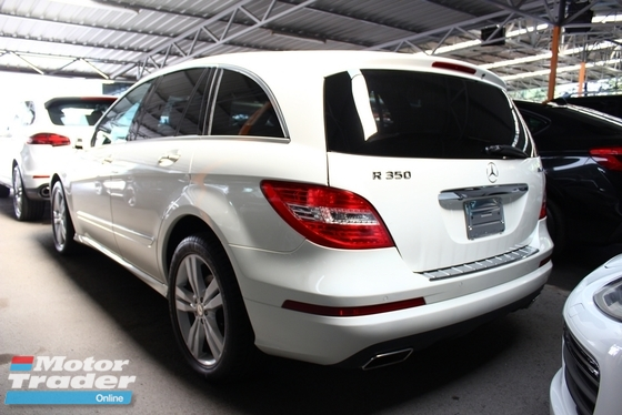 2013 MERCEDES-BENZ R-CLASS R350 LUXURY PACK (F/L) -UNREG-